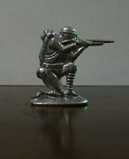 Kneeling Soldier - Lead Toy - A. C.Gilbert Co. #19 - From Vintage Mold