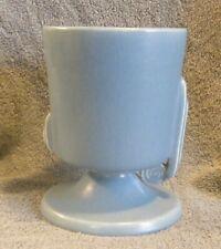 1930s Roseville Pottery MODERNE Line 789-6 Turquoise Blue 6-1/4in. Planter
