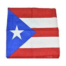 Puerto Rico Flag Bandana Brand New 100% Cotton PR Heritage Bandana