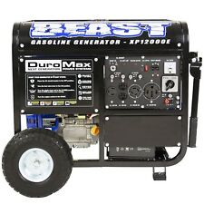 NO TAX DuroMax XP12000E 12000 Watt Portable Gas Electric Start Generator NEW!
