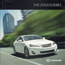 Lexus IS 2010-11 UK Market Sales Brochure 250 200d SE SE-I SE-L F Sport 250C