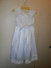 Wedding dress for girls size 8 USA made L.A. Tara
