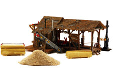 Woodland Scenics HO Scale Built-Up Building/Structure Buzz's Sawmill
