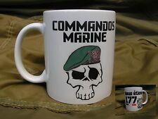 MUG - COMMANDOS MARINE - nous étions 177 - WW2 COS France US D DAY béret vert