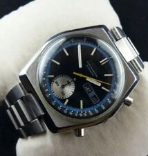 Seiko chronograph 6139-7080 automatic men Japan working wrist watch rare