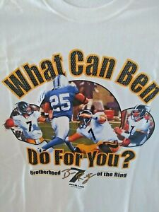 Ben 7 Roethlisberger Pittsburgh Steelers WHAT CAN BEN DO FOR YOU shirt NEW 2006