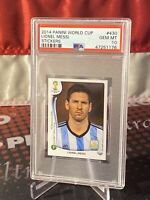 2014 Panini World Cup Stickers #430 Lionel Messi 🇦🇷 PSA 10🔥📈