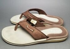 Sperry Top-Sider Flip Flops Sandals Men's size 10 M Brown/Tan 9777813 Rare Style