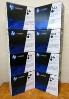 NEW HP 64X CC364X OEM Genuine Black Laserjet Toner Print Cartridge Sealed