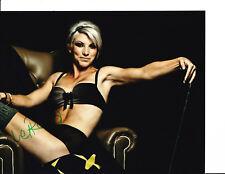 LPGA SUPERSTAR MELISSA REID SIGNED SUPER SEXY 8X10