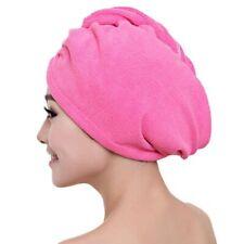 Microfiber Hair Towel Bathroom Towel Bath Towels Absorbent Quick Dry Hat Cap