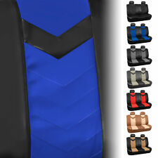 Synthetic Leather Full Set Auto Seat Covers For Auto Car SUV Van Sedan Full Set