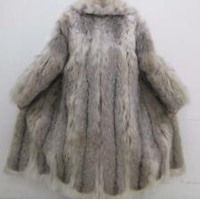 Genuine SEXY Lynx Fur Coat  Sz 8 Lightweight Clean Val $12,000 Handmade Size 8