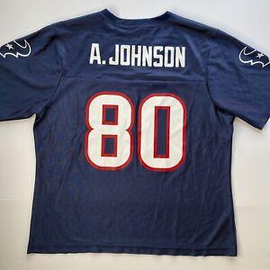 NFL Houston Texans Women's Jersey #80 Andre Johnson - Size Large