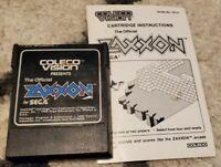 Zaxxon (Colecovision) with Manual