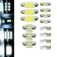 14X Assorted LED Car Interior Light Dome Trunk Map License Plate Lamp Bulb Kits