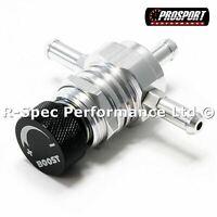 Prosport In Car Boost Adjuster Controller Control Valve Petrol Turbo BLACK