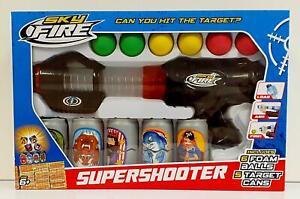 Sky Fire Air Super Shooter Target Game - Black