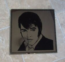 "Elvis Presley Mirror King of Rock N Roll Collectible 13.75"" x 13.5"""