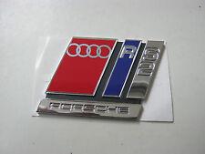 Audi rs2 p1 Emblem en letras 8a0853735a portón trasero avant s2 b4 v6 TDI 20v Turbo