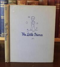 Antoine de Saint Exupery LITTLE PRINCE 1943 3rd printing Reynal 1st year