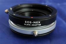 ULATA Tilt Lens Mount Adapter Canon EOS EF to Sony E NEX A7 R A6000 EF-NEXTilt