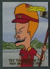 BEAVIS and BUTT-HEAD _ Try The Hot Cow Pie _ 1994 Fleer MTV Promo Card