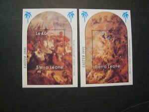 Sierra Leone Easter lot of 3   MNH OG