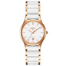 Roamer C-LINE Women's White Ceramic Swiss Quartz Watch 657844 49 25 60