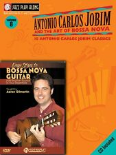 Bossa Nova Guitar Bundle Pack Jobim Bossa Nova Jazz Play-Along Book CD 000642172