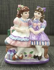 Vintage 1996 Lefton Yamada Porcelain Music Box Thats What Friends Are For