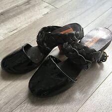 Munoz Vrandecic Unique Black Womens heels Size 37