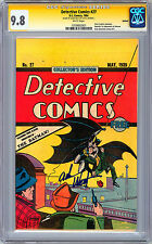 DETECTIVE COMICS #27 CGC-SS 9.8 NM WP *SIGNED ADAM WEST* RARE OREO REPRINT 1984