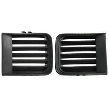 Pair Front Bumper Grille Grill Fog Lamp Light Cover  For 1999-2004 Pathfinder