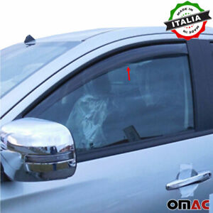 Window Visor Vent Sun Shade Rain Guard 2pcs Fits Nissan Frontier 2005-2016