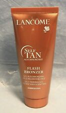 LANCOME FLASH BRONZER SELF TANNING TAN GEL 60ml AUTOBRONZANT TRAVEL SIZE MAKEUP