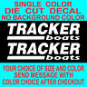 Tracker Boats Vinyl Decal set of 2 car truck boat tackle box window sticker