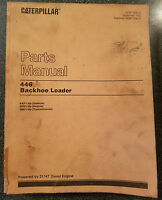 Cat Caterpillar parts manual 446 backhoe loader 6XF1-UP, SEBP1836-02, 1992