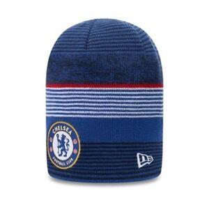 Chelsea Football Club Reversible Blue Skull New Era Beanie Hat | New w/Tags