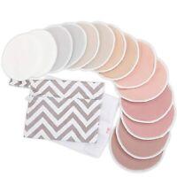 "Reusable Nursing Pads for Breastfeeding - 4-Layers Organic (Large 4.8""|Lovelle)"