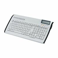 Zignum Keyboard Tastatur 7350, Spain Layout (QWERTY), 9 Hotkeys, USB Calculator