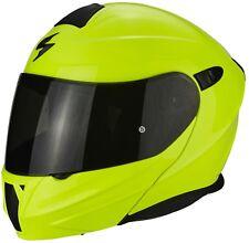 Scorpion Casque de Moto Exo-920 Solid Jaune Taille XL