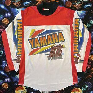 Vintage Yamaha Racing Motocross Jersey
