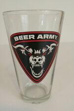 Beer Army Pint Glass New Bern, North Carolina