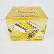 MARCATO Atlas No 150 Pasta Noodle Maker Machine Vintage with Box~Made in Italy