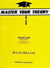 Master Your Theory Grade 1 / One - Revised Edition *BRAND NEW*
