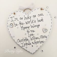 Personalised I'm As Lucky As Can Be The Worlds Best Nan Mum Belongs To Me Gift