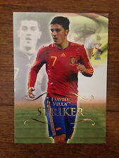 2011 Futera Unique Football Soccer Card - Spain  DAVID VILLA Mint