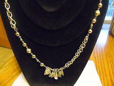 """Lia Sophia """"Sassy"""" Silver Necklace 36-39 inches NEW"""