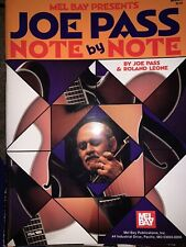 Joe Pass Note By Note Jazz Guitar Sheet Music Book By Ronald Leone
